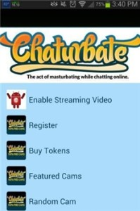 Application Android pour Chaturbate